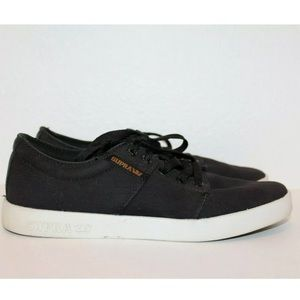 Supra  Stacks LL Skate Shoes Men's Size 8 Black